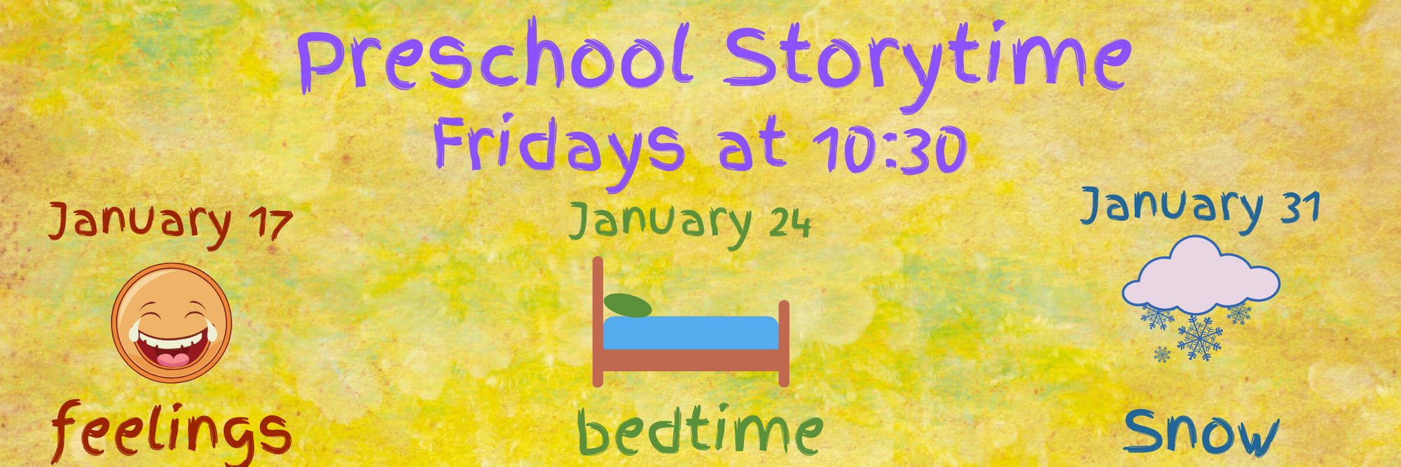 Pre-school Storytimes Fridays @ MCCLS Children's Den | Moultrie | Georgia | United States
