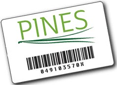 2020 PINES Library card