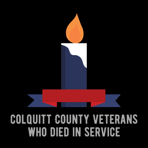Colquitt County Veterans Who Died in Service